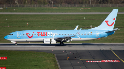 A picture of DATYH - Boeing 7378K5 - TUI fly - © Christoph Flink