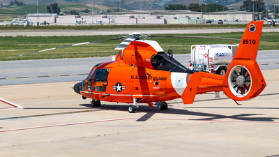 6510 - Aérospatiale MH-65D Dolphin - United States - US Coast Guard (USCG)