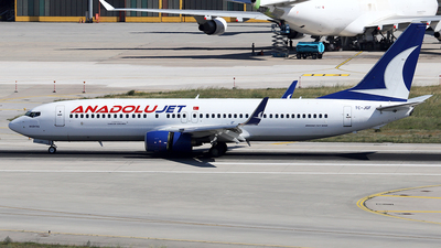 A picture of TCJGF - Boeing 7378F2 - Turkish Airlines - © Firat Cimenli