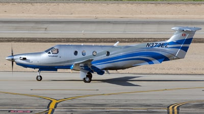 A picture of N373EZ - Pilatus PC12/47E - [1654] - © CJMoeser