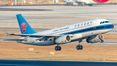 A picture of B1802 - Airbus A320232 - China Southern Airlines - © Yan Shuai