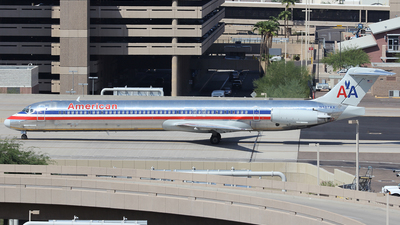 N487AA - McDonnell Douglas MD-82 - American Airlines