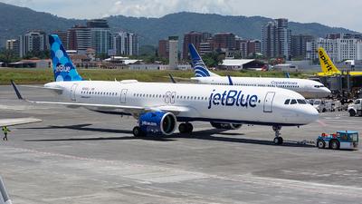 N2102J - Airbus A321-271NX - jetBlue Airways