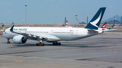 A picture of BLQB - Airbus A350941 - Cathay Pacific - © BobH