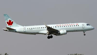 A picture of CFHNX - Embraer E190AR - [19000083] - © C. v. Grinsven