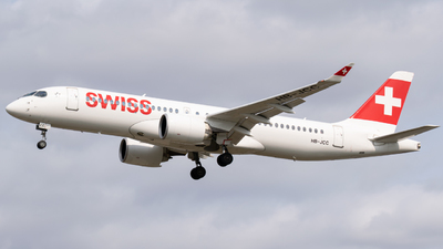 A picture of HBJCC - Airbus A220300 - Swiss - © Jack Snow
