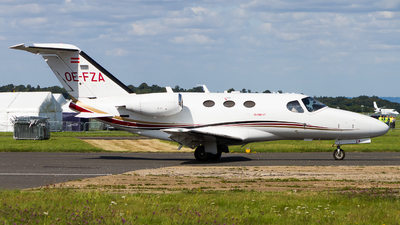 OE-FZA - Cessna 510 Citation Mustang - GlobeAir