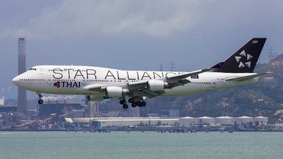 HS-TGW - Boeing 747-4D7 - Thai Airways International