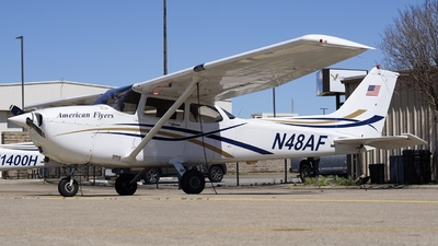 A picture of N48AF - Cessna 172R Skyhawk - [17280437] - © Mauri_0307