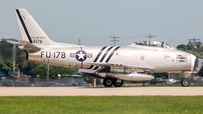 N48178 - North American F-86A Sabre - Private
