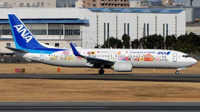 JA85AN - Boeing 737-881 - All Nippon Airways (ANA)