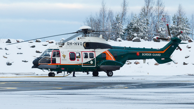 OH-HVQ - Airbus Helicopters H215 - Finland - Frontier Guard