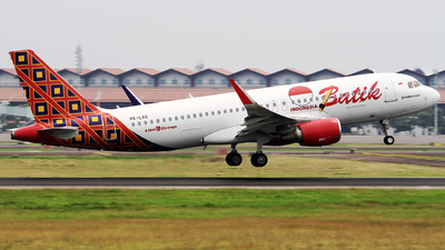 PK-LAO - Airbus A320-214 - Batik Air