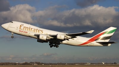 OO-THC - Boeing 747-4HAERF - Emirates SkyCargo (TNT Airways)