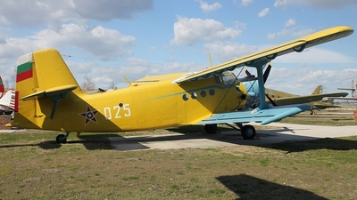 025 - Antonov An-2 - Bulgaria - Air Force