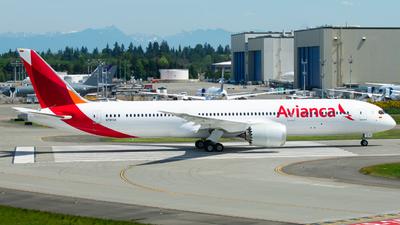 N797AV - Boeing 787-9 Dreamliner - Avianca