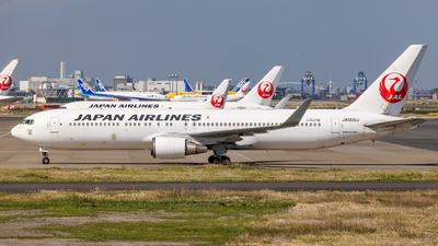 JA606J - Boeing 767-346(ER) - Japan Airlines (JAL)