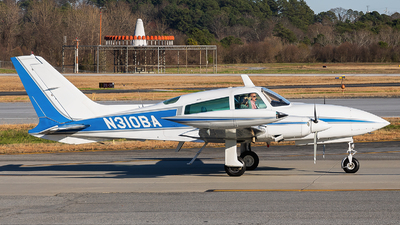N310BA - Cessna T310R II - Private
