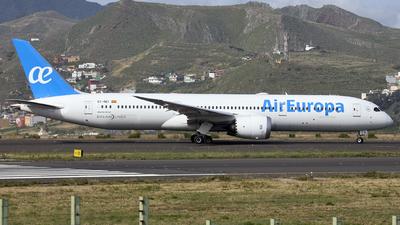 EC-NEI - Boeing 787-9 Dreamliner - Air Europa