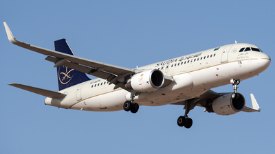 HZ-AS75 - Airbus A320-214 - Saudi Arabian Airlines