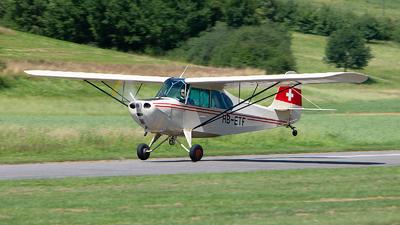 A picture of HBETF - Aeronca 7AC Champion - [7AC1792] - © Alex