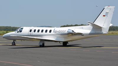 D-CCCF - Cessna 550 Citation II - Private
