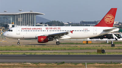 A picture of B6619 - Airbus A320214 - Juneyao Airlines - © Qiao Zheng