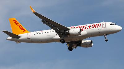 TC-DCG - Airbus A320-216 - Pegasus Airlines