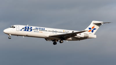 EC-HOA - Boeing 717-2CM - Spanair Link (AeBal)