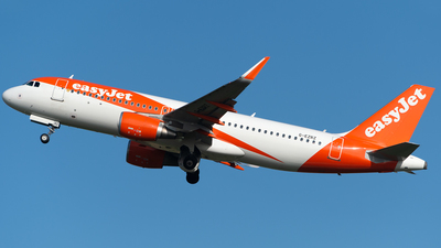 A picture of GEZRZ - Airbus A320214 - easyJet - © Ian McGregor