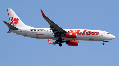 HS-LUJ - Boeing 737-8GP - Thai Lion Air