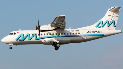 A picture of XAUYK - ATR 42600 - Aeromar - © Antonio Velasco Cruz