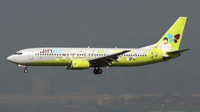 HL7556 - Boeing 737-86N - Jin Air