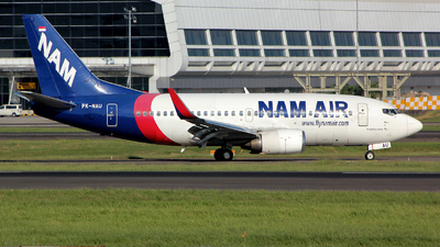 PK-NAU - Boeing 737-524 - NAM Air