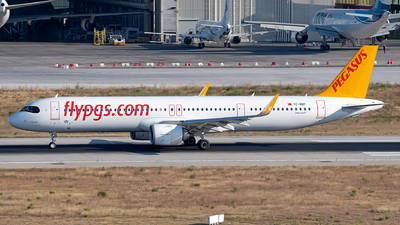 A picture of TCRBF - Airbus A321251NX - Pegasus Airlines - © Turkay Oksuz