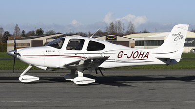 G-JOHA - Cirrus SR20-GTS - Private