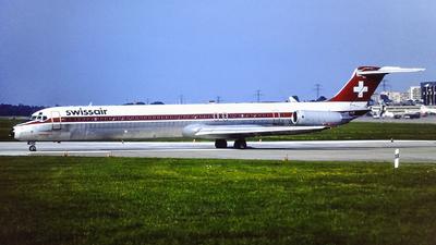 HB-INB - McDonnell Douglas MD-82 - Swissair