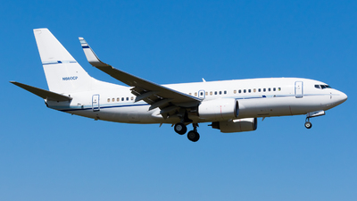 N660CP - Boeing 737-7BD - ConocoPhillips Aviation