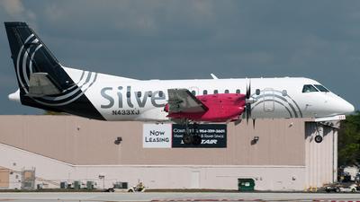 N433XJ - Saab 340B+ - Silver Airways