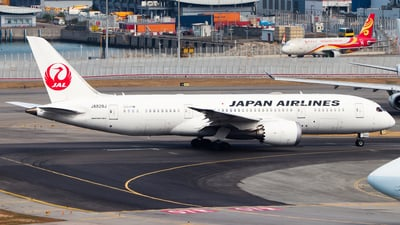 JA829J - Boeing 787-8 Dreamliner - Japan Airlines (JAL)