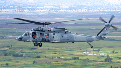 ANX-2308 - Sikorsky UH-60M Blackhawk - Mexico - Navy