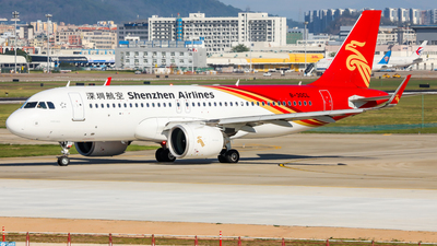 A picture of B30CL - Airbus A320271N - Shenzhen Airlines - © Dandelionlv125