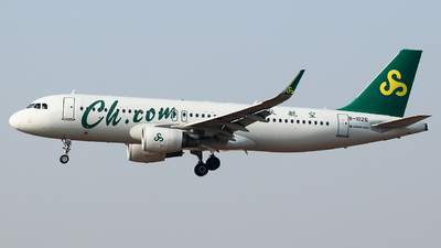 A picture of B1026 - Airbus A320214 - Spring Airlines - © King Wang