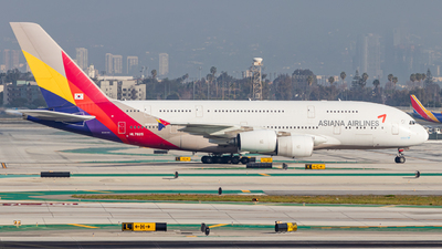 A picture of HL7625 - Airbus A380841 - Asiana Airlines - © Issac