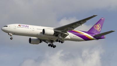 HS-TJF - Boeing 777-2D7 - Thai Airways International