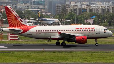 VT-SCK - Airbus A319-112 - Air India