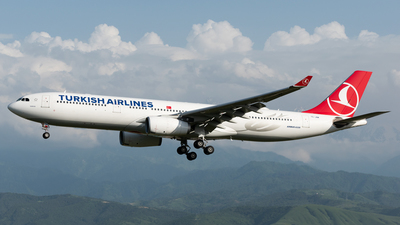 A picture of TCJNM - Airbus A330343 - Turkish Airlines - © Yerbol Yespol - Kazakhstan Spotting Club