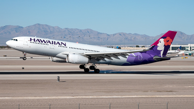 A picture of N379HA - Airbus A330243 - Hawaiian Airlines - © Yan777