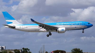 LV-FNJ - Airbus A330-223 - Aerolíneas Argentinas