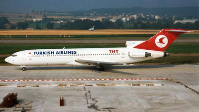 TC-JCB - Boeing 727-2F2(Adv)(F) - THY Turkish Airlines